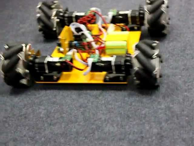 Nexus 4WD Mecanum wheel mobile chassis for Arduino