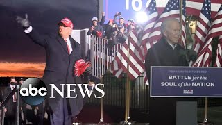Trump, Biden make final push into Election Day | ABC News