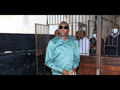 Sudi leaves Nakuru Central Police Station after being released