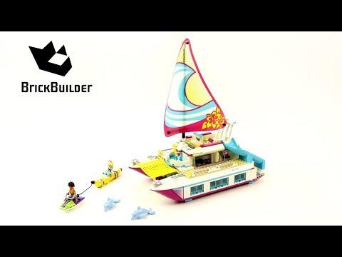 Vidéo LEGO Friends 41317 : Le catamaran