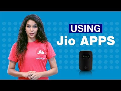 How to Use Jio Apps on Smartphones or Tablets using your JioFi?