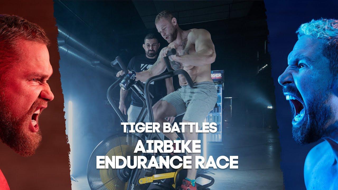 Tiger Battles! Tkadlčík vs Végh: AirBike Endurance Race