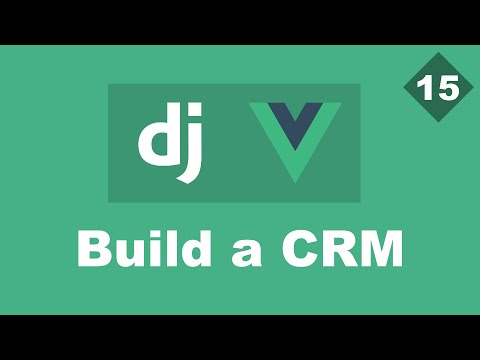 Delete clients/leads - Building a Simple CRM Using Django And Vue - Part 15 | Django Rest framework thumbnail