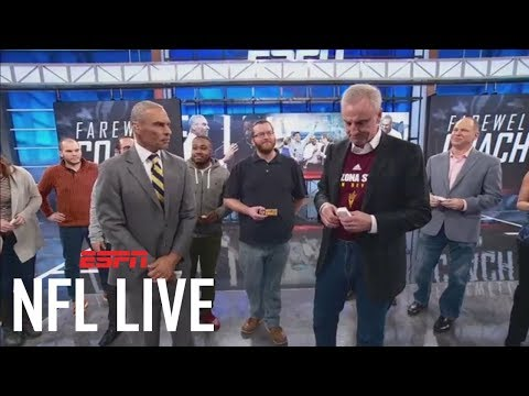 NFL Live says farewell to Herm Edwards   NFL Live   ESPN