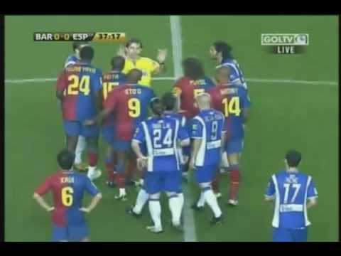 Download Barcelona 1 - Espanyol 2 Highlights 21.02.2009 HD Mp4 3GP Video and MP3