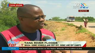 Kenya Red Cross gives status update on flooding situation in Tana River