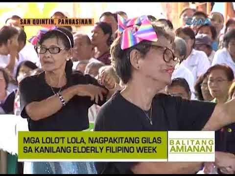 Balitang Amianan: Retro Dance Showdown ng mga Lolo at Lola, Silipin