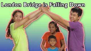 London Bridge Is Falling Down + More | Mother Goose Club Playhouse Songs & Rhymes