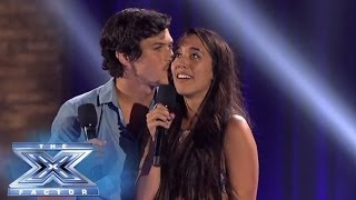 Alex & Sierra Knows Grease Is The Word - THE X FACTOR USA 2013