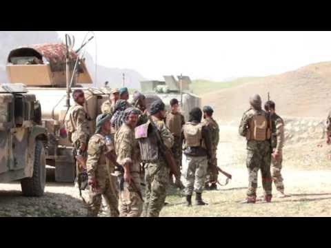 عملیات نیروهای امنیتی در برابر طالبان مسلح در فاریاب