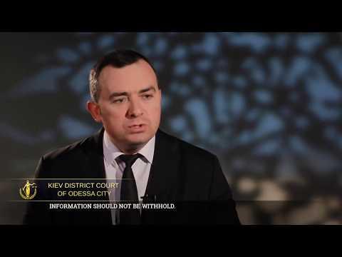 Фільм про Київський районний суд м. Одеси (субтитри англійською мовою)