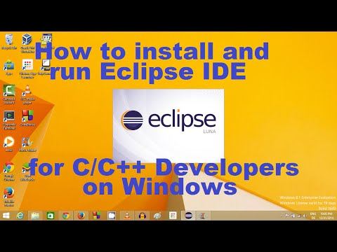 How to Install and Setup Eclipse IDE for C/C++ Development on Windows