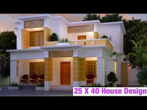 Indian Vastu House Plans For 25x40 North Facing - смотреть онлайн на