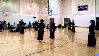 Kendo Women's Match4: US University Student vs Japan University Student