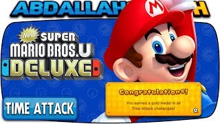ALL TIME ATTACK CHALLENGES 🏆 | New Super Mario Bros U Deluxe (Nintendo Switch)