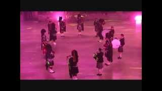 preview picture of video 'TATTOO BEAUVAIS 2014 : Red Hackle Pipe Band (Belgique)'