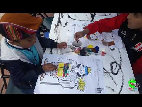 Como pintar con acuarelas - Niños