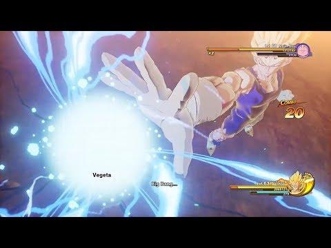 Dragon Ball Z Kakarot – Majin Vegeta Demo Gameplay   Direct Feed (HD)