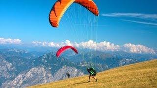 Lake Garda, Italy (Lago di Garda) Monte Baldo Paragliding