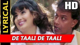 De Taali De Taali With Lyrics | Abhijeet   - YouTube