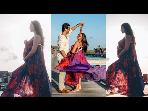 Neha Dhupia flaunting her baby bump in her Maternity Photoshoot |Angad Bedi