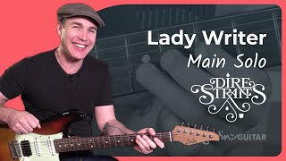 Lady Writer Dire Straits Tablature Tab Guitar
