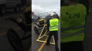 Henry Ford 100 year old Model T showing how it's done on a RTI ramp!!!