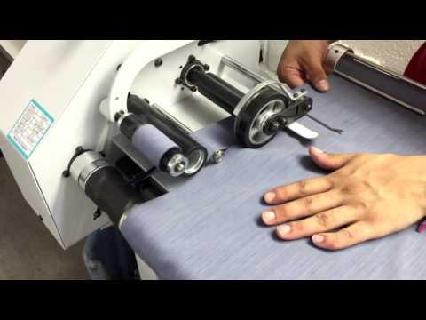 Maquina cortadora de sesgo