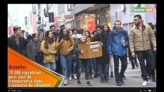 Primark: AchACT.be mène une action à la Rue Neuve pendant les soldes, soutenue par 70,000 signature
