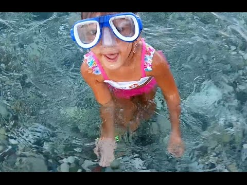 Denizde oyunlar plaj keyfi, Eğlenceli çocuk videosu