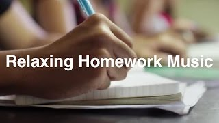 Homework Music for Homework: Relaxing Jazz Homework Music For Concentration Playlist Video