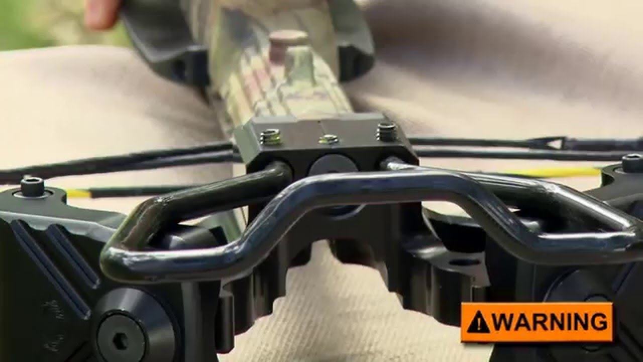 How to assemble a pre-2018 TenPoint crossbow