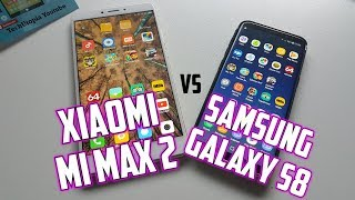 Samsung S8 vs Xiaomi Mi Max 2 Speed test/Gaming/Comparison(Exynos 9 vs Snapdragon 625)