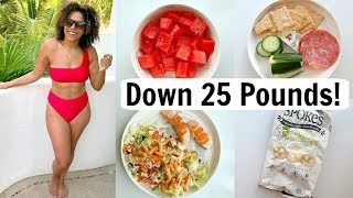 What I Eat in a Day to Lose Weight! Realistic Calorie Deficit!