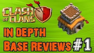 Clash of Clans: In Depth Base Reviews! Ep.1 | High-Level Townhall 8