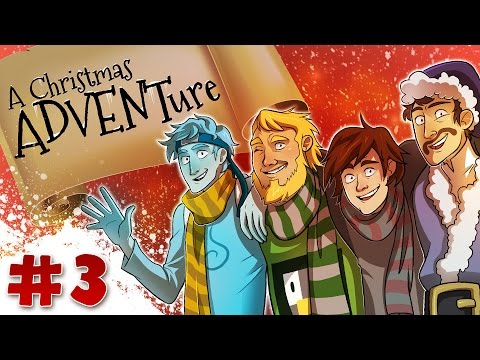 Minecraft Christmas ADVENTure 4: Bob Ross Paintings (Day 3)