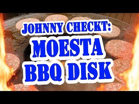 Moesta BBQ Disk TEST !!! Johnny checkt | Die Grillshow Special