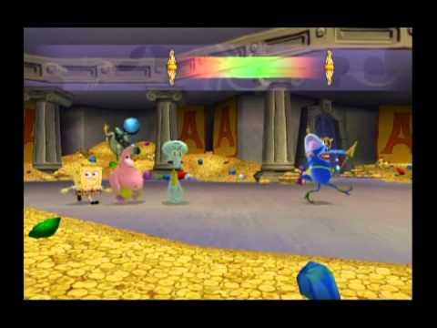 Видео № 0 из игры Spongebob's Atlantis Squarepantis [Wii]