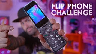 Alcatel Go Flip 3 - I Switched To A 2019 Flip Phone For One Week!