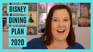 Disney Dining Plan 2020 || How To Use The Disney Dining Plan