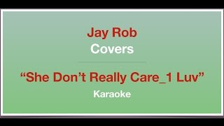 She Don't Really Care_1 Luv - Alicia Keys - Karaoke