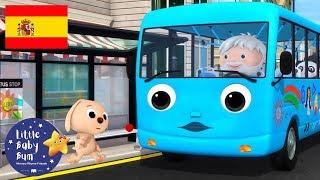 Canciones Infantiles | Las Ruedas Del Autobus P.15 | Dibujos Animados | Little Baby Bum En Español