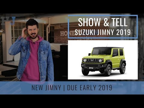Show & Tell | Car News | New Suzuki Jimny 2019
