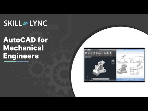AutoCAD for Mechanical Engineers   Course Demo - YouTube