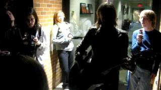 Behind Your Eyes-Jon Foreman (aftershow @Cedarville 3/28/10)