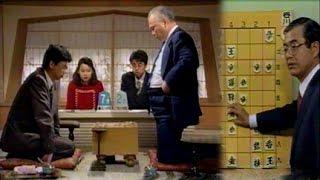 将棋◆加藤一二三VS谷川浩司NHK杯96斜め棒銀VS四間穴熊②