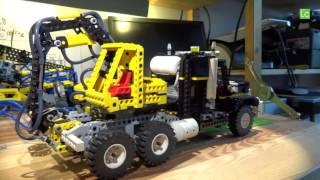 "LEGO Technic ""Air Tech Claw Rig"" 8868 modded with Airtank - Lego Technic MOD"