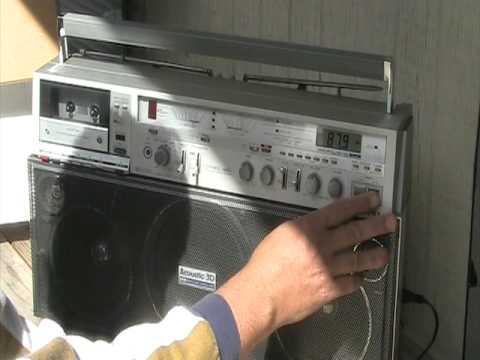 Aiwa 880 CS Stereo Radio Cassette Recorder 2-Band CS-880 CS-880U Boombox