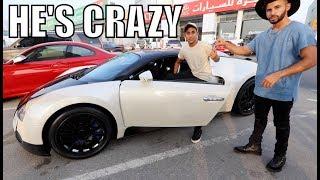 15 Year Old In Dubai Gave Me His Bugatti...