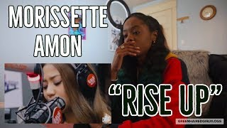 Morissette Amon - Rise Up on Wish 107.5 REACTION!!! **EMOTIONAL**